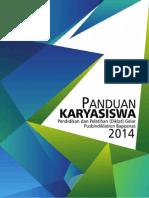 Panduan Karyasiswa Rev 22 Sept 2014