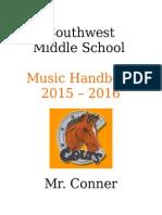 southwest handbook 2015-2016