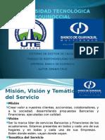 Exposicion Calidad Banco de Guayaquil