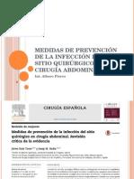 Medidas de Prevención de La Infección Del Sitio
