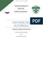 Historia de Los Automoviles
