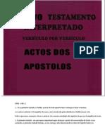 Bíblia Comentada - Versículo Por Versículo [Atos Dos Apóstolos]