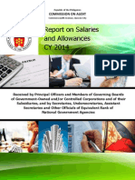 CY2014 Report on Salaries and Allowances