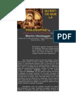 Heidegger - Que Es Filosofia