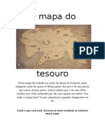 O Mapa Do Tesouro - Produção de Texto