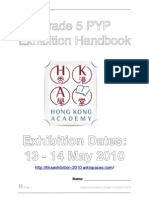 HKA PYP Exhibition Student Journal 2010