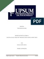 Reporte de Practica Num 2 Par Trenzados Norma T-568-A