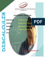 Monografia Discalculia Cons