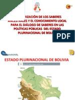 Saberes Ancestrales Bolivia