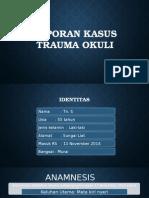 Laporan Kasus Mata (trauma okuli)