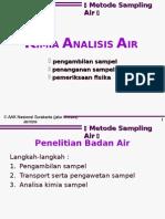 Metode Sampling Air