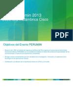 Solucion WiFi - Evento Perumin Cisco