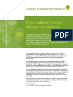 CMI White Paper, Change Agility - Feb 2012_1 Resultados Change Maturity