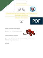 Reconocimiento de Elementos y de Las Partes de Maquinas Agricolas