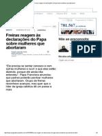 Freiras reagem às declarações do Papa sobre mulheres que abortaram.pdf