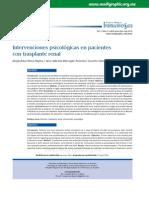 Intervenciones Psicológicas en Pacientescon Trasplante Renal