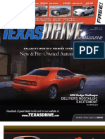 Texas Drive Magazine March 8-21, 2010 Issue