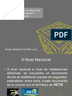 Normas de Seguridad Electrica Nacional e Internacional
