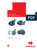 Pump Price List 2015