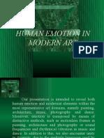 Human Emotion in Modern Art - Slide