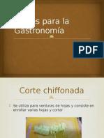 Cortes Para La Gastronomía,MATEO