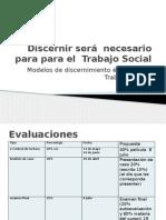Discernir será  necesario para para el  Trabajo Social.pptx