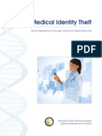 Medical Id Theft Recommend