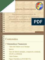Curso Ingeniería Económica USM