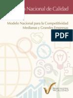 Modelo Nacional de la Calidad para Medianas y Grandes Empresas