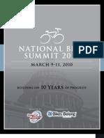 Bike Summit Program 2010 Final