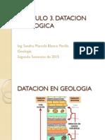 datacion geologica