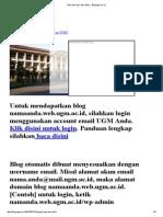 3G (Geo-logi- Desi-fisik) _ Blog.ugm.Ac