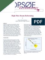 Topsoe High Flux Steam Reform