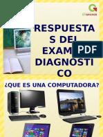 Respuestas Del Examen Diagnostico