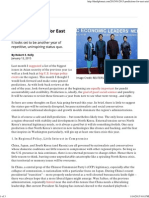 2015 Predictions for East Asia _ the Diplomat