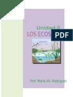Unidad II Los Ecosistemas