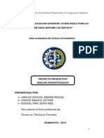 Proyector Productivo - Análisis Parasitológico