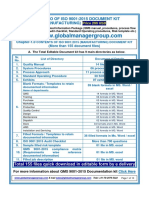 QMS 9001:2015 Documentation Kit
