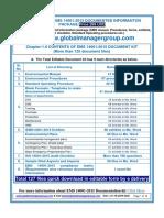 EMS 14001:2015 Documentation Kit