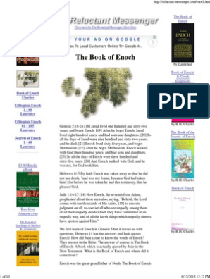 Book Of Enoch Ethiopian Bible
