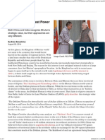Bhutan and the Great Power Tussle _ the Diplomat