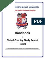 GCSR Hand Book 2014-15