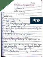 JAVA Hand Written Notes Download Part 1