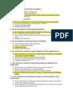 Preguntas de Anatomía - Segundo Parcial