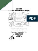 SENIOR Parent Night Flyer Edit2