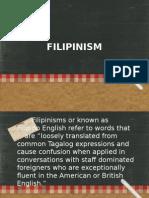 FILIPINISM