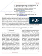 Application Based Technical Approaches of Data Mining in Pharmaceuticals, And Research Approaches in Biomedical and Bioinformatics