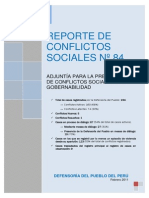 Reporte-84 Defensoria Del Pueblo