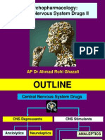 Central Nervous System Drugs II
