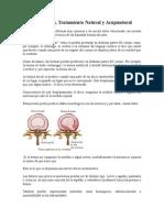 Hernia de Disco, Tratamiento Natural y Acupuntural